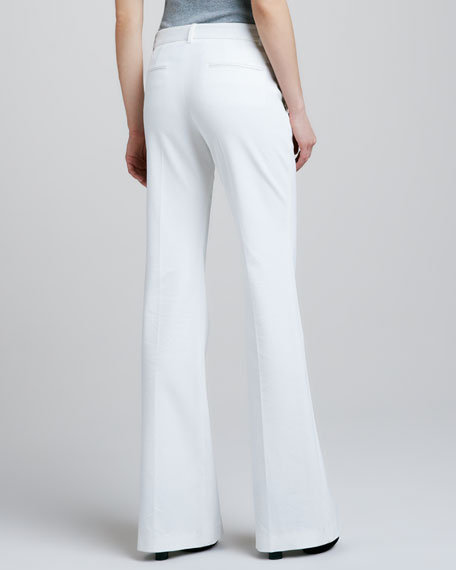 Juliena Tailored Pants, White