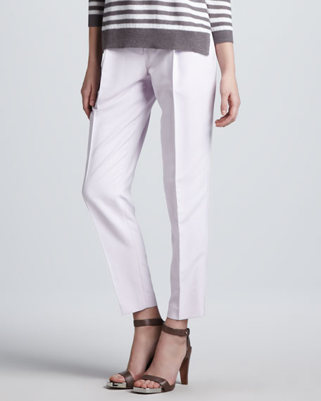 Menton Relaxed Silk Pants
