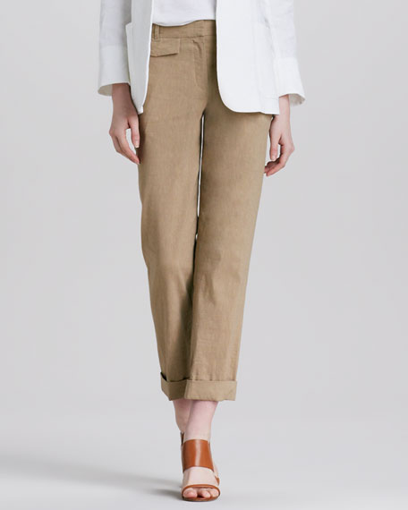 Rumer Relaxed Cuffed Pants
