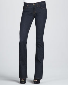 J Brand Jeans 818 Mid-Rise Starless Boot-Cut Jeans