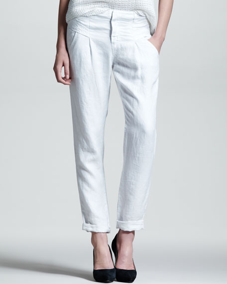 Steiner Relaxed Linen Pants