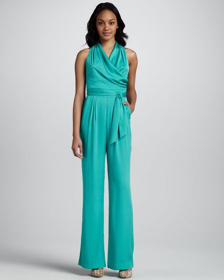 Jumpsuit with Cutout Back