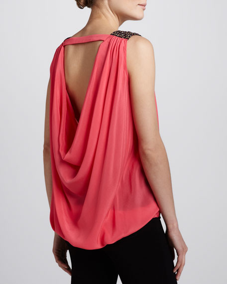 Yelena Drape-Back Top