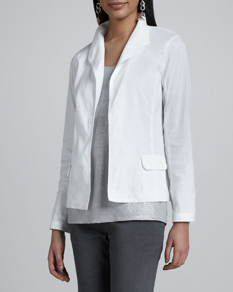 Stand Collar Jacket, Women's
