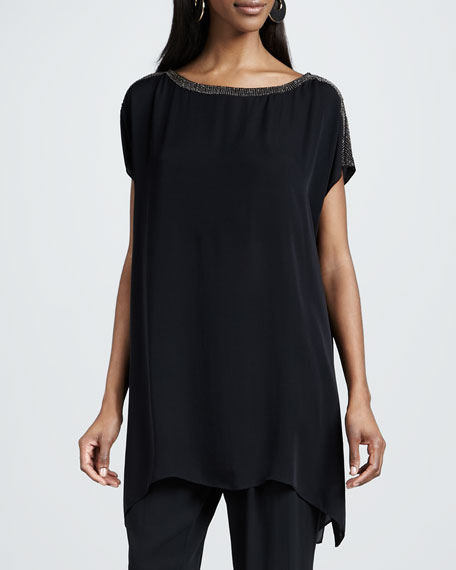 Floaty Long Boxy Tunic