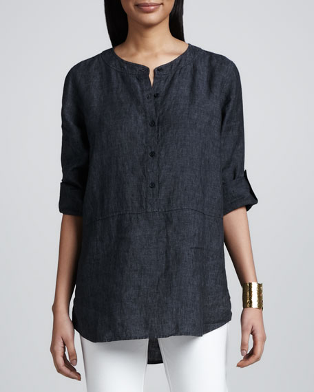 Delave Washed Linen Tunic