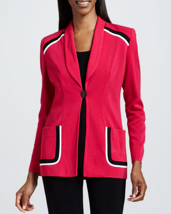 Paige Tipped Jacket
