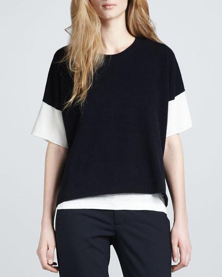 Layered Cashmere Sweater