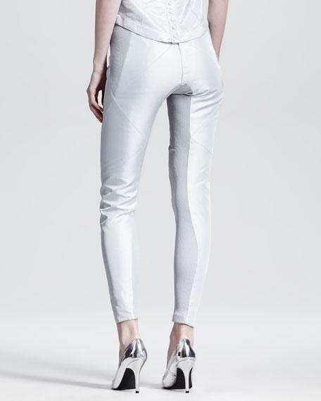 Plain Paneled Leggings