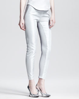 Gareth Pugh Plain Paneled Leggings