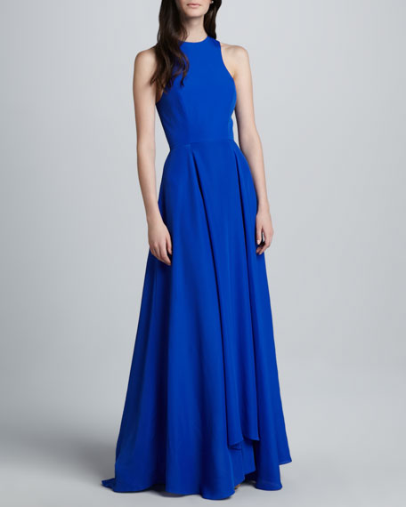 Vegas Siren Silk Gown