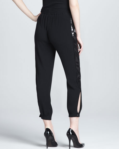 Kamaris Embellished Drawstring Pants
