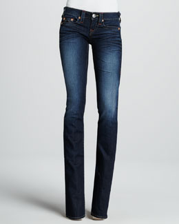 True Religion Tony Last Chance Micro Boot-Cut Jeans
