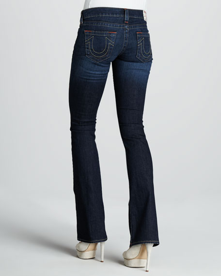 Tony Last Chance Micro Boot-Cut Jeans