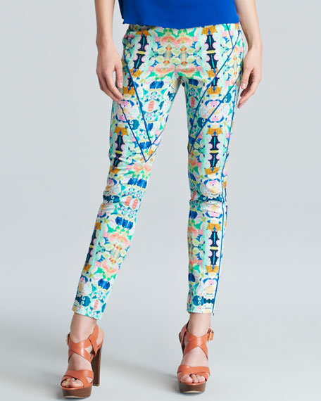Piped Racer Pants