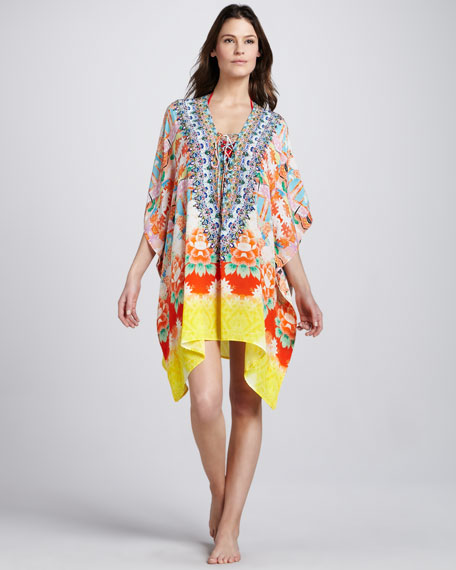 Endless Summer Lace-Up Coverup