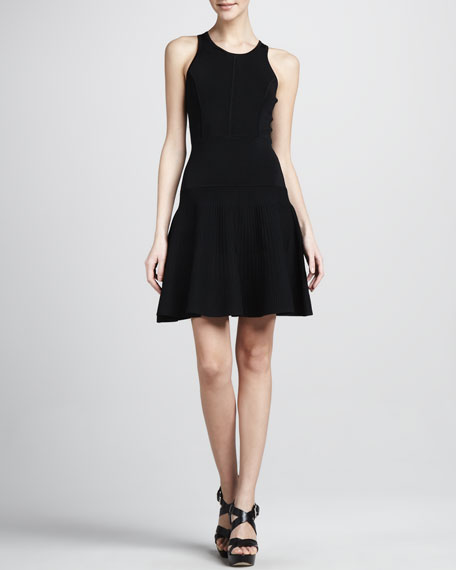 Delilah Fit-and-Flare Dress