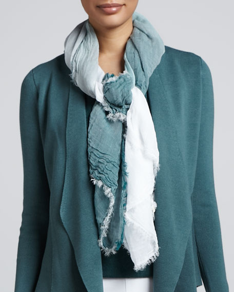 Ombre Square Weave Scarf