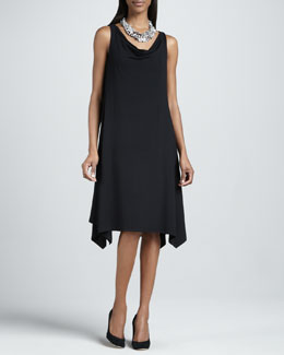 Eileen Fisher Cowl-Neck Dress