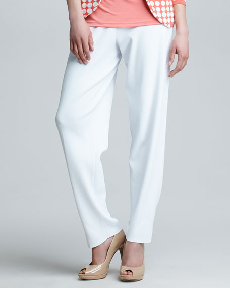 Side-Slit Relaxed Pants