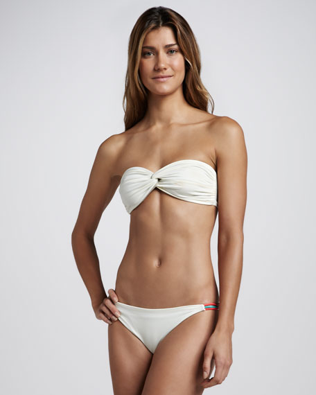 Reversible Bandeau Bikini Two-Piece