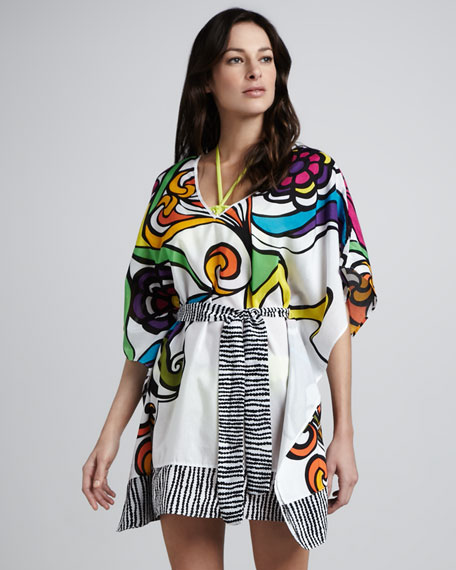 Aquarius Printed Coverup Tunic