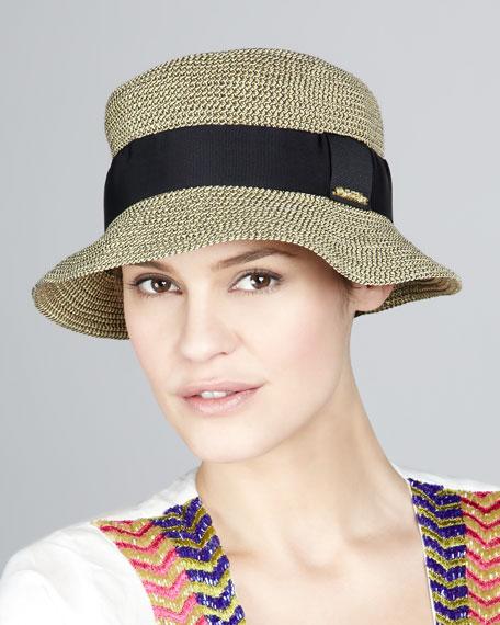Ribbon-Trim Hat