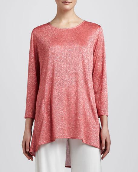 Shimmer Knit Tunic