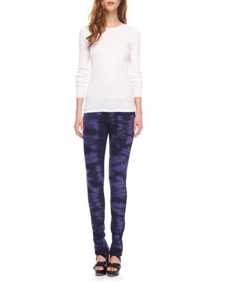 Tie-Dye Stretch Skinny Jeans, Women's