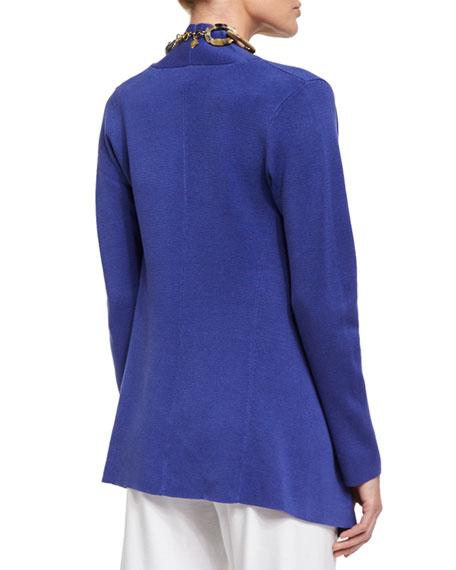 Open Interlock Jacket, Iris