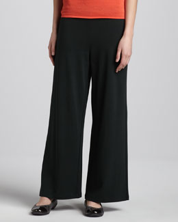 Joan Vass Wide-Leg Pants, Classic