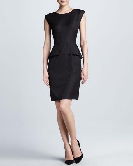 Myra Peplum Dress
