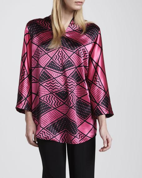 Deco-Print Silk Tunic