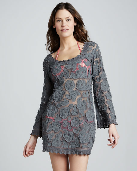 Lace/Mesh Coverup