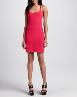 Susana Monaco Fitted Racerback Dress