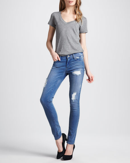Soho Deconstructed Skinny Jeans