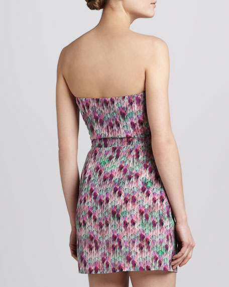 Nikitta Strapless Printed Dress