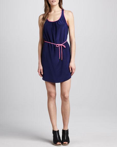 Condola Contrast-Trim Dress
