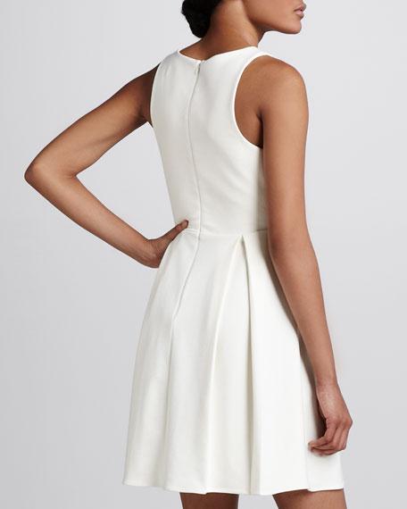 Gabby Pleated Sleeveless Dress