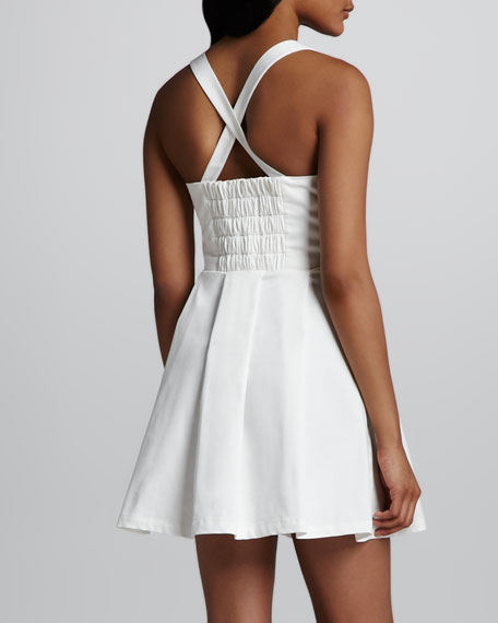 Augusta Bow-Front Dress