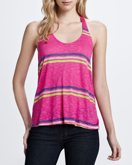Hermosa Striped Slub Top