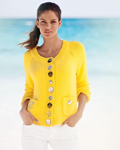 Pure Handknit Lifestyle Cotton Cardigan