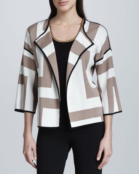 Multi-Knit Jacket