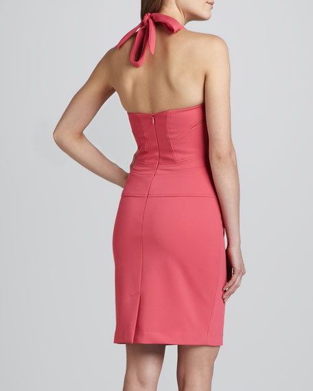 Sweatheart Halter Cocktail Dress