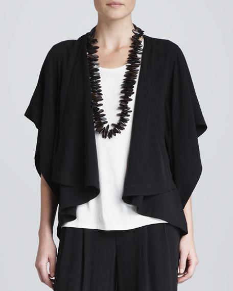 Draped Kimono Jacket