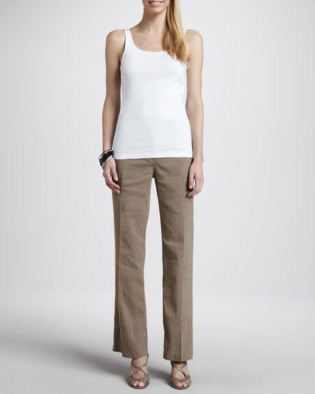 Straight-Leg Trousers, Women's