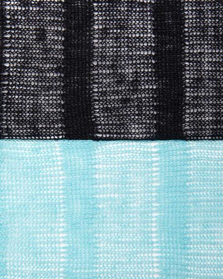 Linen Striped Cardigan