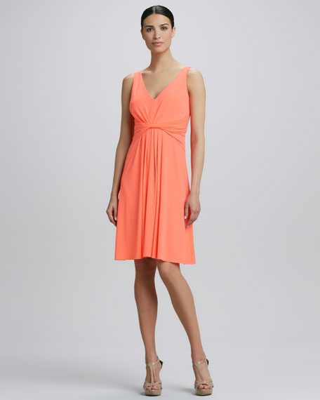 Divina Twisted Front Dress