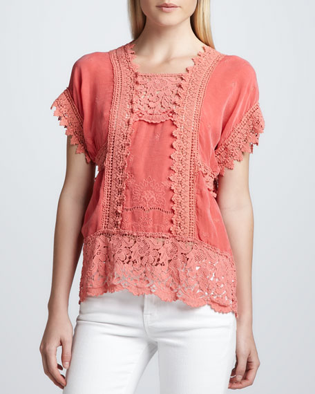 Lacy Fireworks Top, Women's