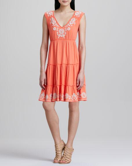 Maddie Knit Tier Dress